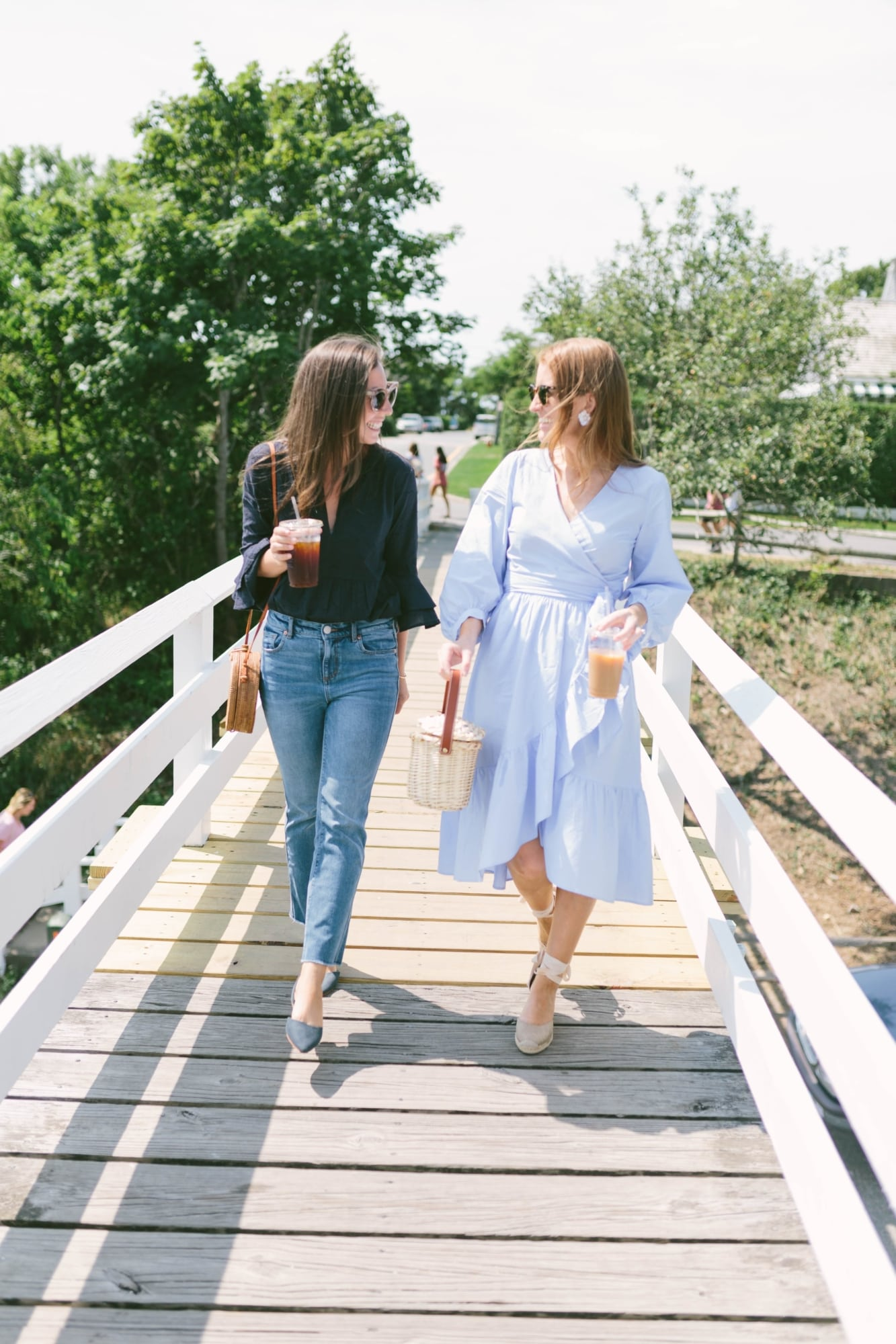 Mackenzie Horan and Ali Schilling in Nantucket