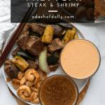 Hibachi Steak Shrimp Paleo Keto A Dash Of Dolly