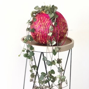 A Dash of Green, Kokedama, Chain of Hearts, Indoor Plant