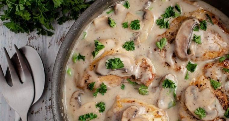 Cream of Mushroom and Chicken