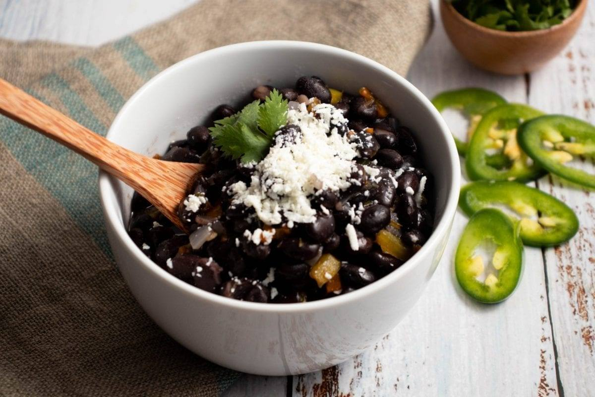 Spicy Black Beans Meal Prep Counting Macros Meal Planning