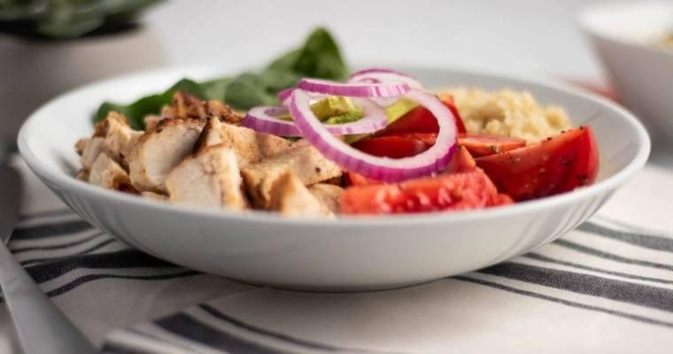 Chicken Quinoa Power Bowl