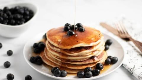 Blueberry Yogurt Pancakes Meal Prep Meal Planning Counting Macros