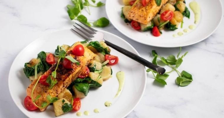 Salmon & Cauliflower Gnocchi
