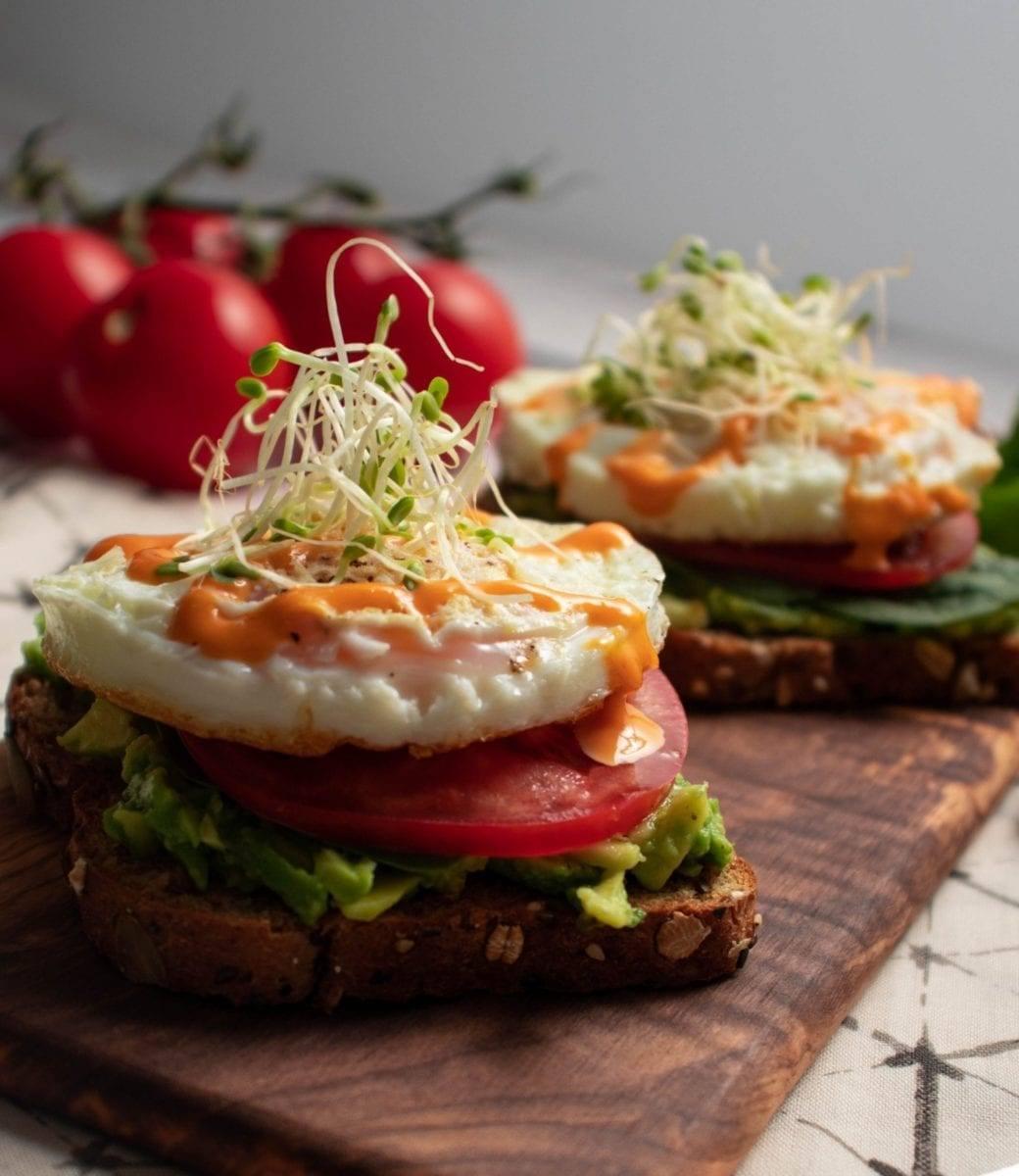 Sriracha Egg Toast