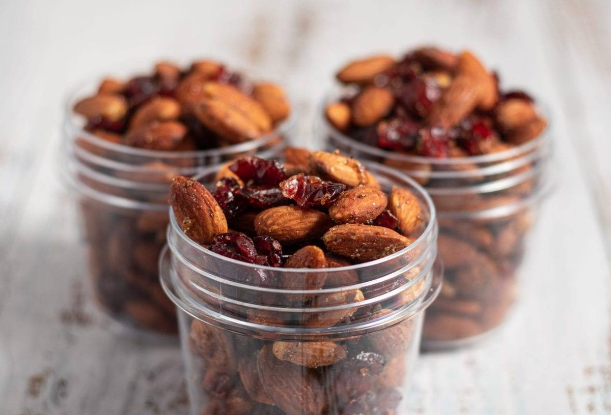 Sweet & Spicy Almonds