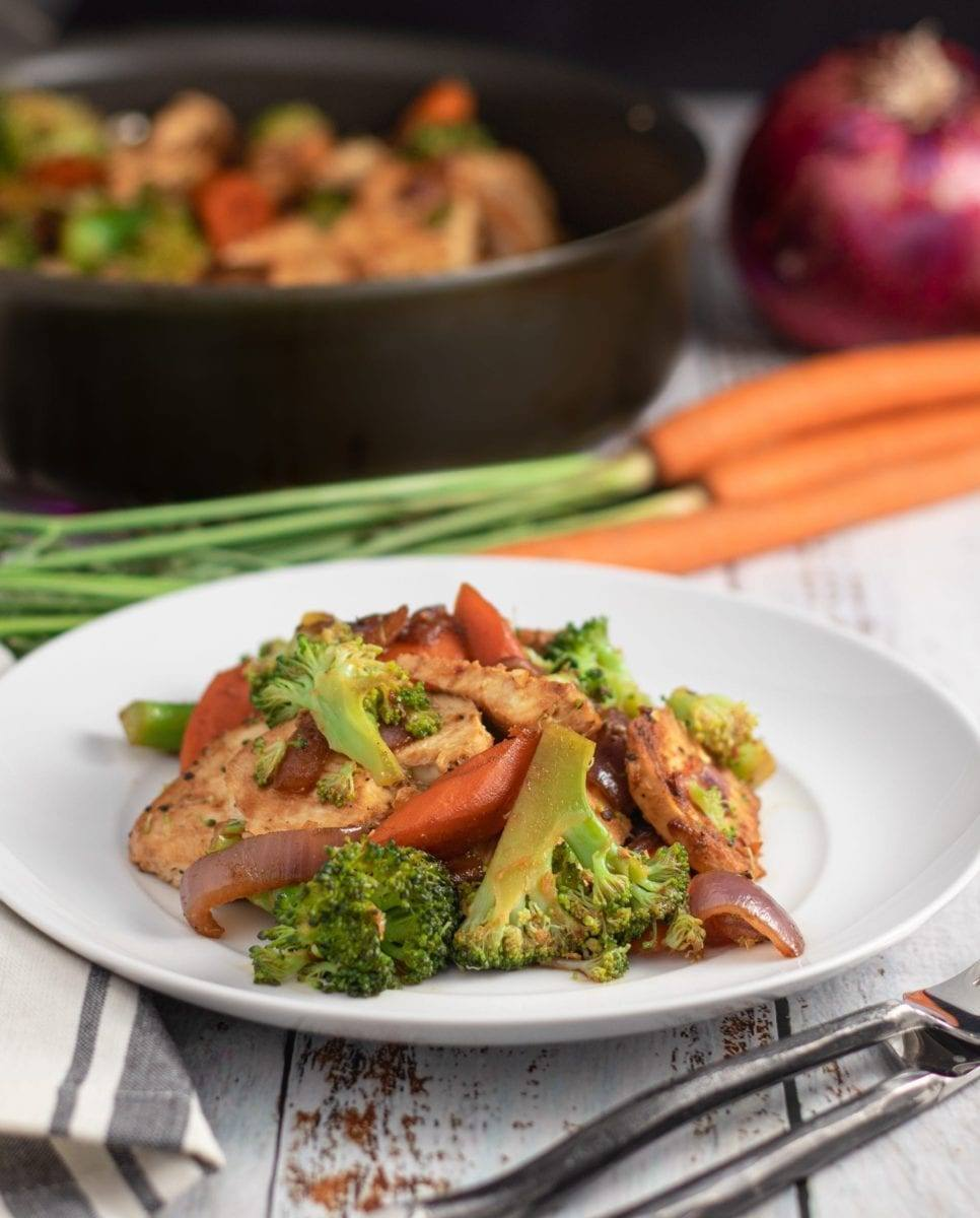 Chicken and Broccoli One Pot Meal