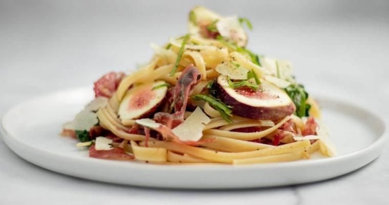 Fig and Prosciutto Pasta