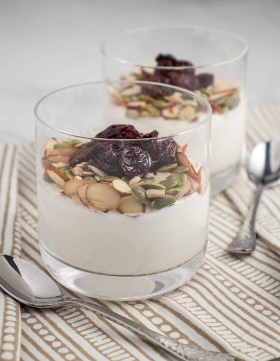 Trail Mix Yogurt Parfait