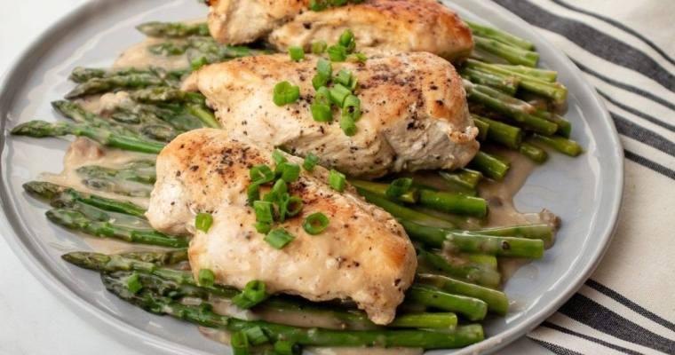 Cream of Chicken & Asparagus