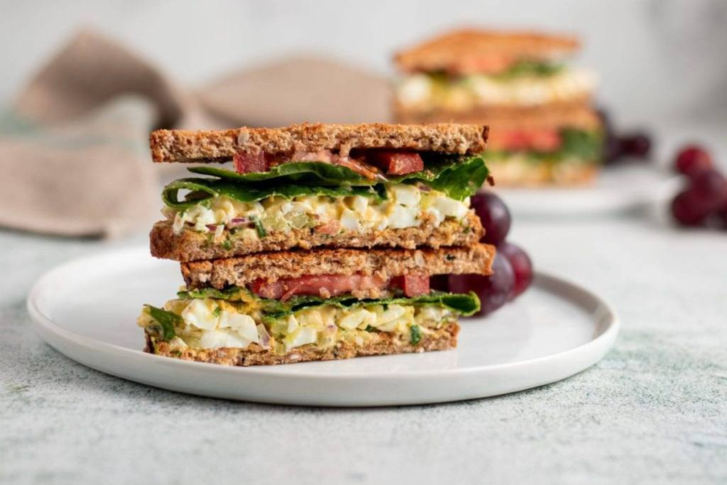 Classic Egg Salad Meal Planning Meal Prep Counting macros