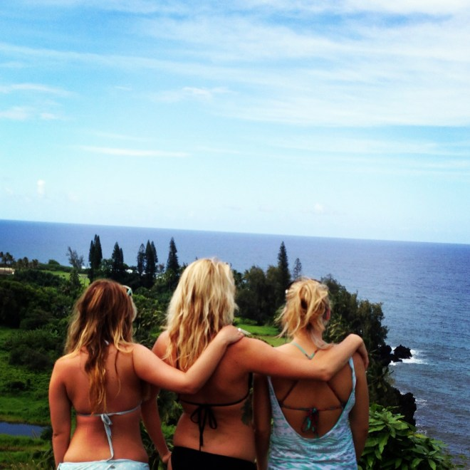 During our roadtrip to Hana