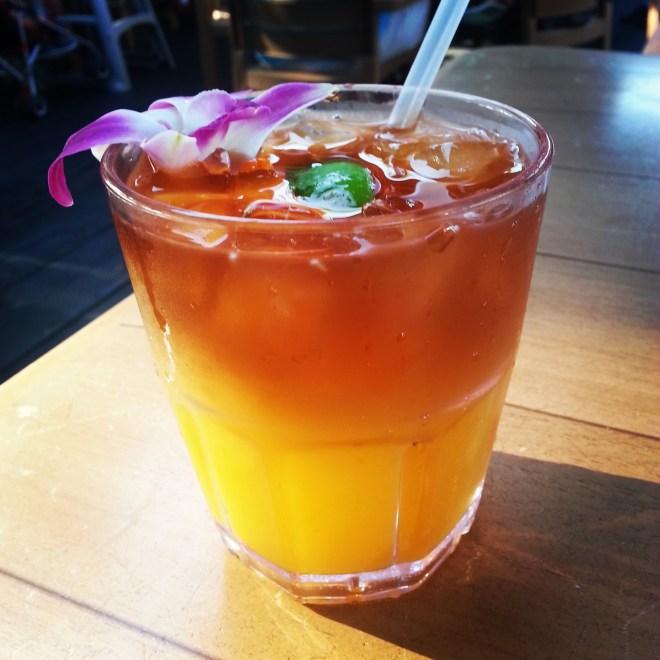 Happy Hour Mai Tai at Aloha Mixed Plate.