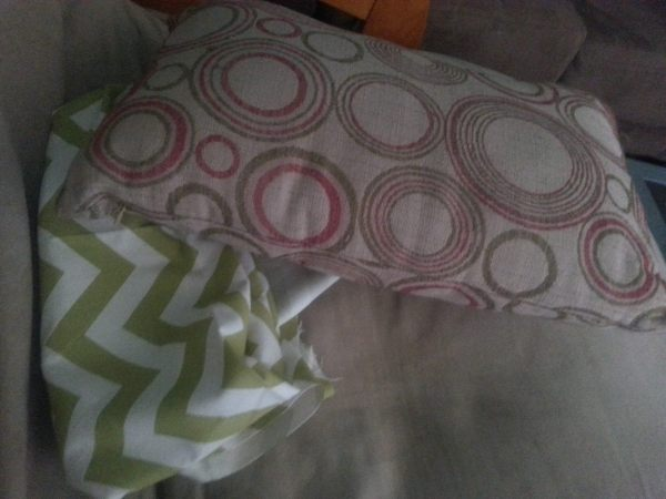 Pillow and Fabric