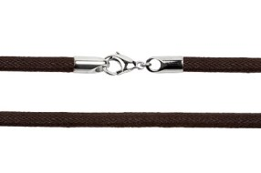 $9.45 Dark Chocolate Leather Cord
