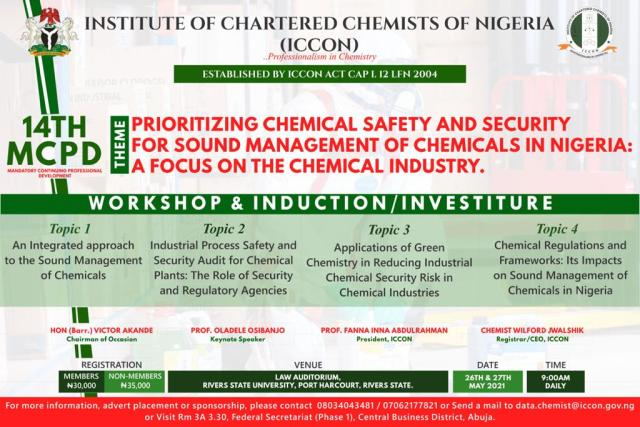 Next ICCON 14th MCPD in Port-Harcourt