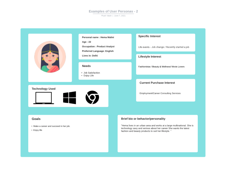 3 Examples of User Personas – Clear and Practical Way