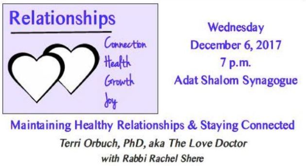 Relationships Dr Terry Orbuch