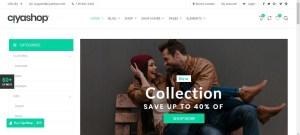 CiyaShop -Responsive Multi-Purpose WooCommerce WordPress Theme