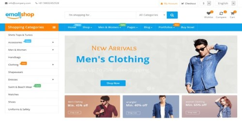 5 Cheap and Best Responsive WooCommerce WordPress Theme 3