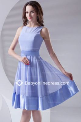 Pretty Sashes/Ribbons A-Line Strapless Knee-Length Bridesmaid Dresses