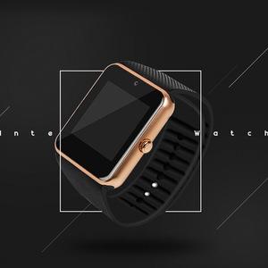 GT08 sleep sports tracking universal through technology wristwatch bluetooth mobile phone smart wear watch smartwatch for men