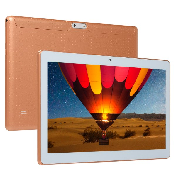 10.1 Inch HD Game Tablet Computer PC Ten Core Android 8.0 GPS 3G Wifi Dual Camera Gold_UK plug 2