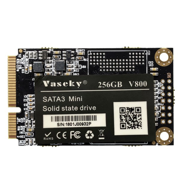 Vaseky SSD Module for Laptop SATA3 Mini Notebook Internal Solid State Drives 1.8 Inch 256GB 2