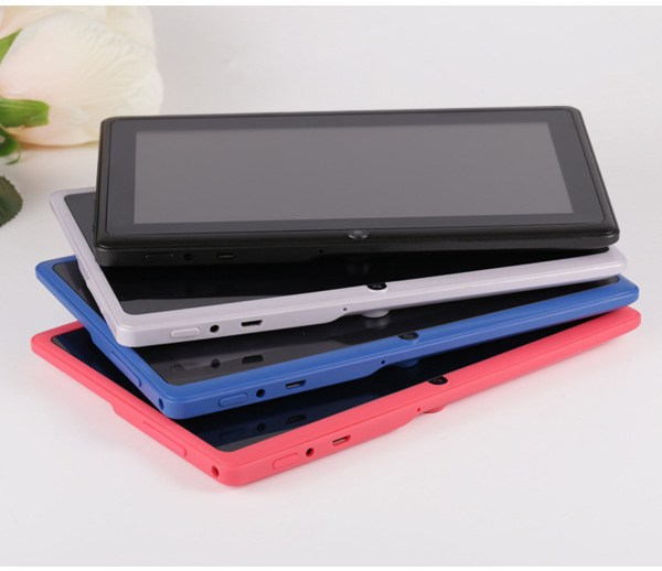 7 inch Tablet PC 1024x600 HD Red_512+4G 2