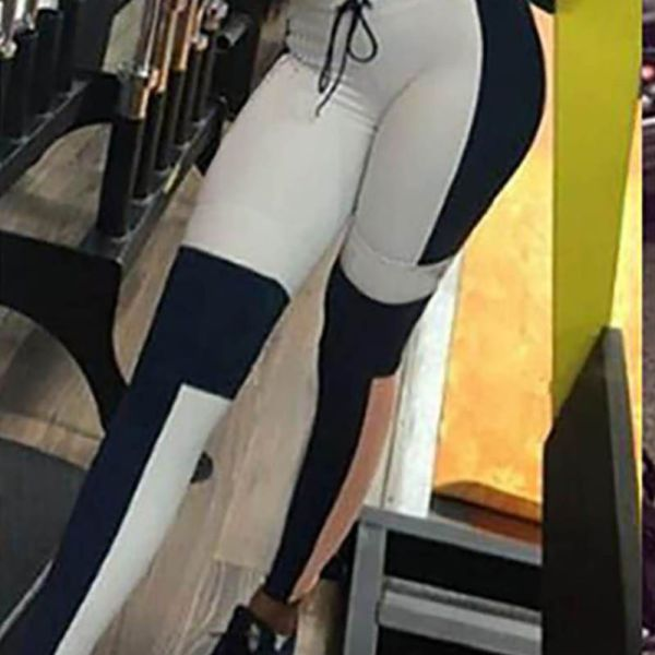 Slim fit Package Hip Yoga Pants 2