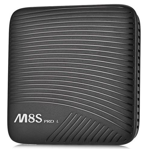 MECOOL M8S PRO L TV Box - 3GB RAM, 16GB ROM, Octa Core, Amlogic S912, Android 7.1, Ordinary remote control - Black, EU Plug 2