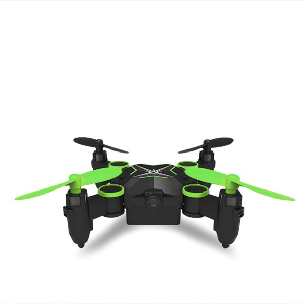 Folding Four Axis Aerial Photography Mini Drone Aircraft Toy - WiFi Real-time Version (Green) 2
