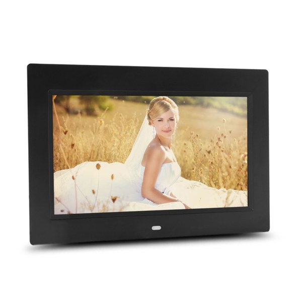 10 inch HD Digital Photo Frame MP3 MP4 Movie Player Fashion Digital Photos Frames-Black EU Plugs 2