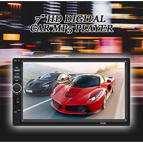 SWM 7018B 7 inch 2 DIN Car MP5 Player HD Touch Screen car Stereo Radio car audio multimedia MP3 FM USB bluetooth with Rear View Camera 2