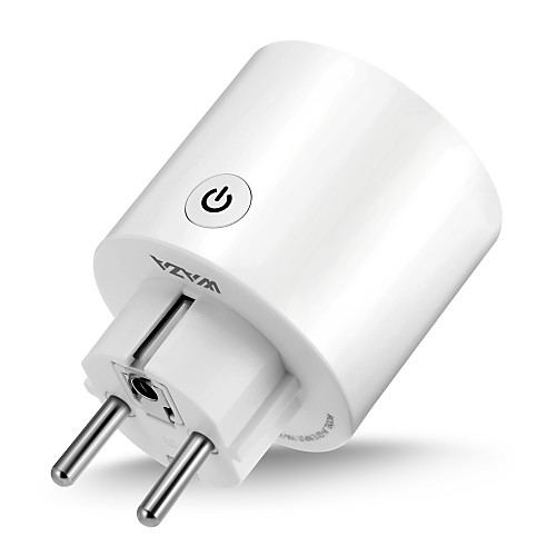 WAZA Smart Plug(EU) Mini Outlet Compatible with Amazon Alexa and Google Assistant, Wifi Enabled Remote Control Smart Socket with Timer Function, No Hub Required 2