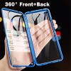 Magnetic Metal Double Side Tempered Glass Phone Case for OnePlus 7 OnePlus 7 Pro OnePlus 6T 3