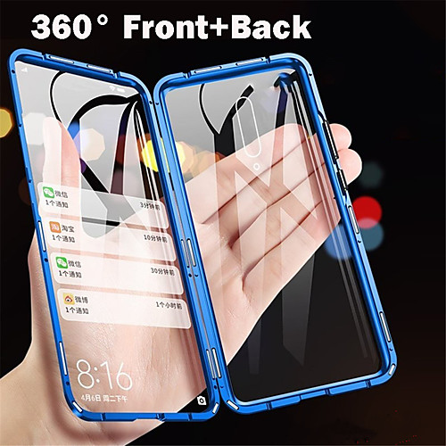 Magnetic Metal Double Side Tempered Glass Phone Case for OnePlus 7 OnePlus 7 Pro OnePlus 6T 2