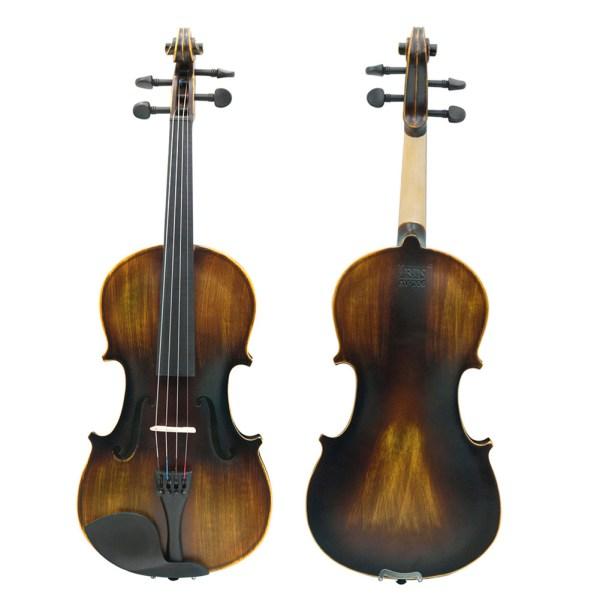 IRIN 4/4 Solidwood Matte Violin for Musical Stringed Instrument Lovers Beginners - AV-206 2