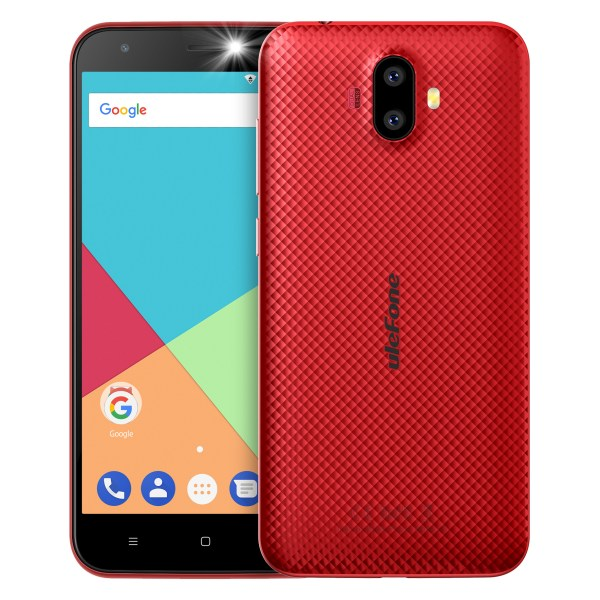 Ulefone S7 1GB RAM+8GB ROM Smartphone 5.0 inch IPS HD Display Android 7.0 Dual Camera 3G Mobile Phone Red 2