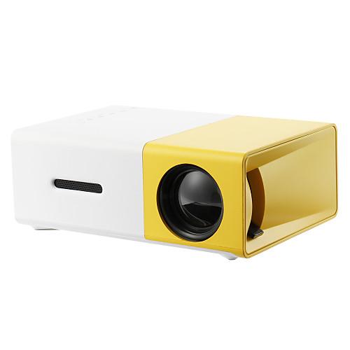 YG300 Home Theater Cinema USB HDMI AV SD Mini Portable HD LED LCD Projector Beamer Home Media Movie Player Support 1080P AV USB SD Card 320 x 240 HDMI / USB / AV / CVBS for Home School Office 2