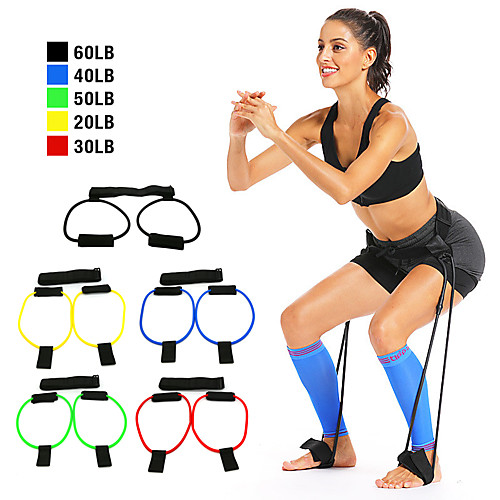 Bounce Trainer Training Device Booty Resistance Belt Bands Jump Trainer Leg Strength and Agility Training Strap Adjustable Waist Belt Sports Resistance Training Home Workout Muscle Building Fat 2