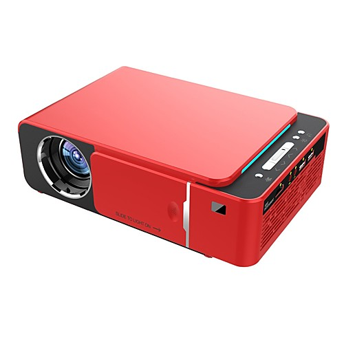 HoDieng UNIC T6 Projector 3500 Lumens HD Portable LED 1280720 Native Resolution 720P HD Video Projector USB VGA HDMI Beamer for Home Cinema Theater Support 1080P Android 7.1 WIFI 2.4G AirPlay DLNA 2
