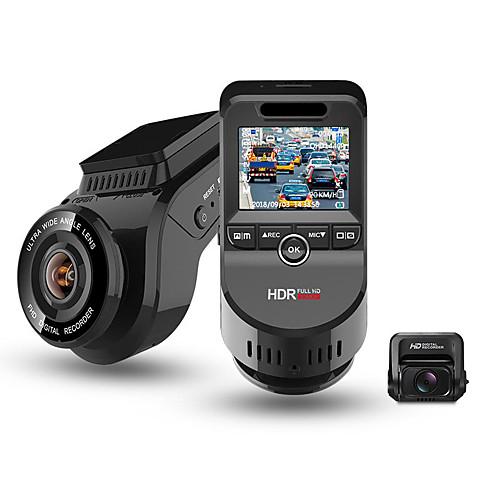 Junsun S590-S 4K 2160P Ultra HD Car DVRs Recorder Dual Lens Dashcam Built in GPS Tracker Night Vision Camera with 1080P 170 Rear Camera 2