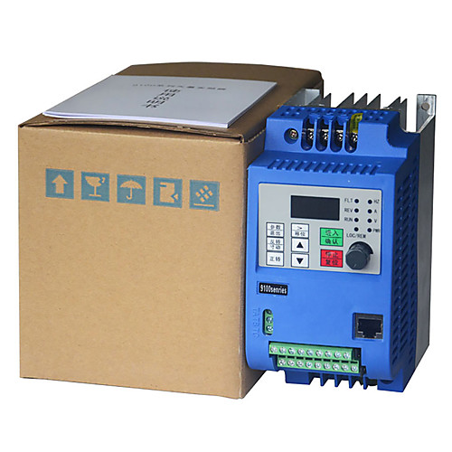 2.2kw 380v ac drive inverter  frequency converter 3 phase frequency inverter for motor speed controller VFD 2