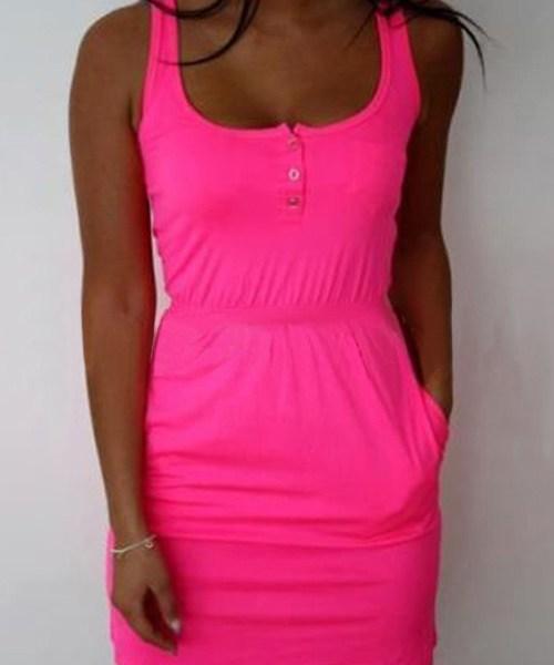 Rose Sleeveless Tight Waist Mini Dress 2