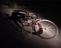 Bicikla nesreca noc
