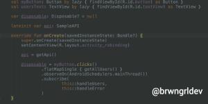 Using RxBinding with Kotlin and RxJava2