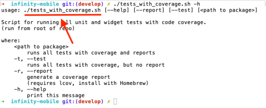 Bash Scripting for Flutter Tests and Code Coverage Reports