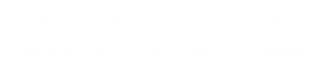 Ada Windows Ltd Logo White