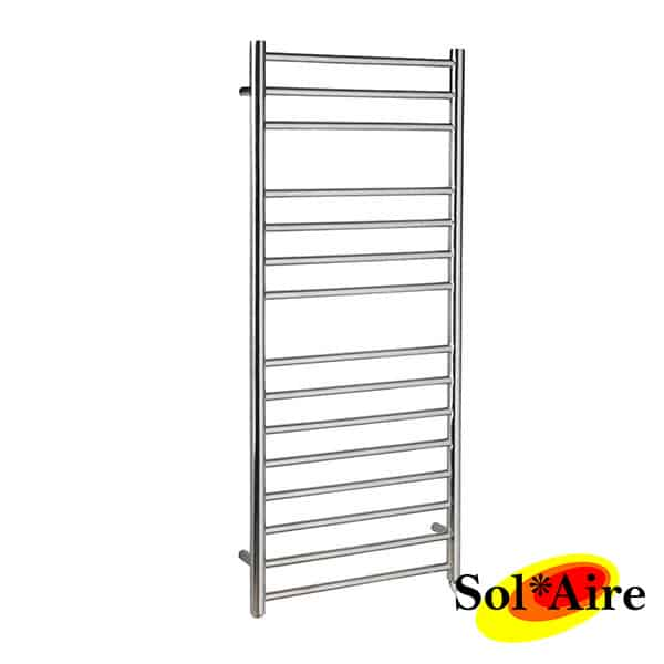 500 x 1200 Straight Stainless Steel Heated Towel Rail